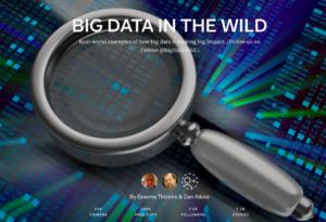 """Big Data in the Wild"" magazine cover"