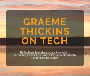 Graeme Thickins On Tech blog image